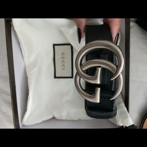 Women's size small authentic gucci belt